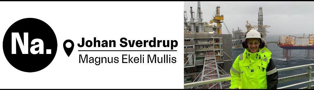 Klikk på bildet for å forstørre. Bilde av reporter Magnus Ekeli Mullis på Johan Sverdrup