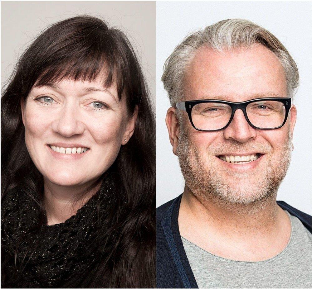 Klikk på bildet for å forstørre. EKSPERTENE: Sexolog Siv Gamnes og spesialist i sexologisk rådgivning Tore Holte Follestad.