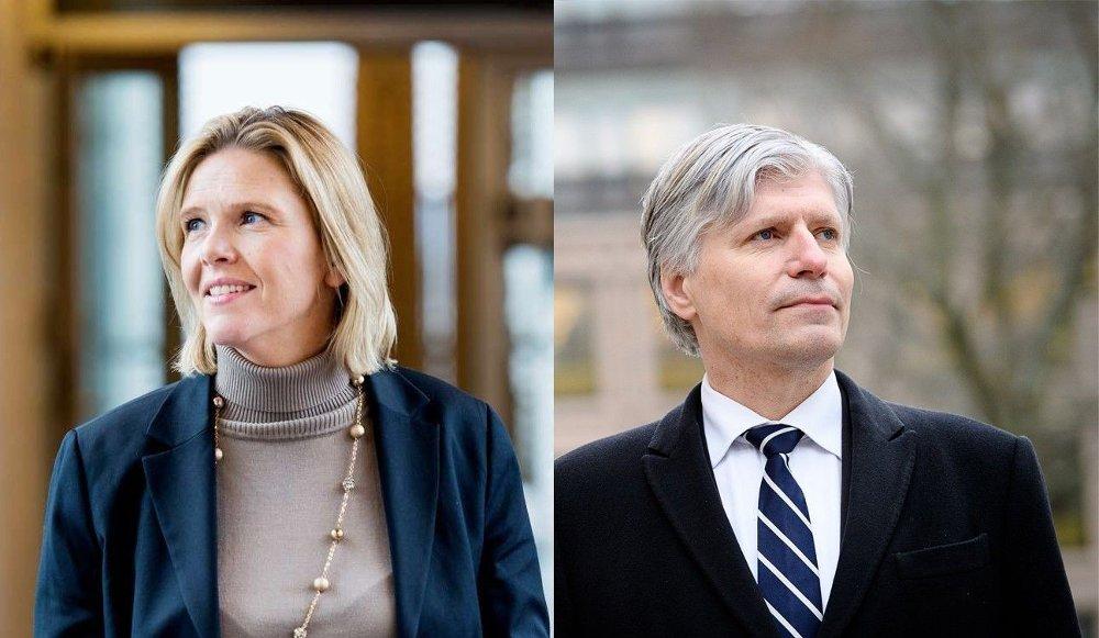 Klikk på bildet for å forstørre. ISFRONT: Oljeminister Sylvi Listhaug .
