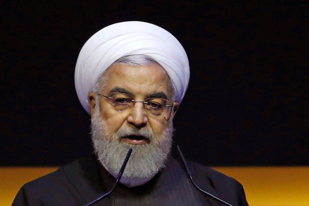 Klikk på bildet for å forstørre. Irans president Hassan Rouhani.