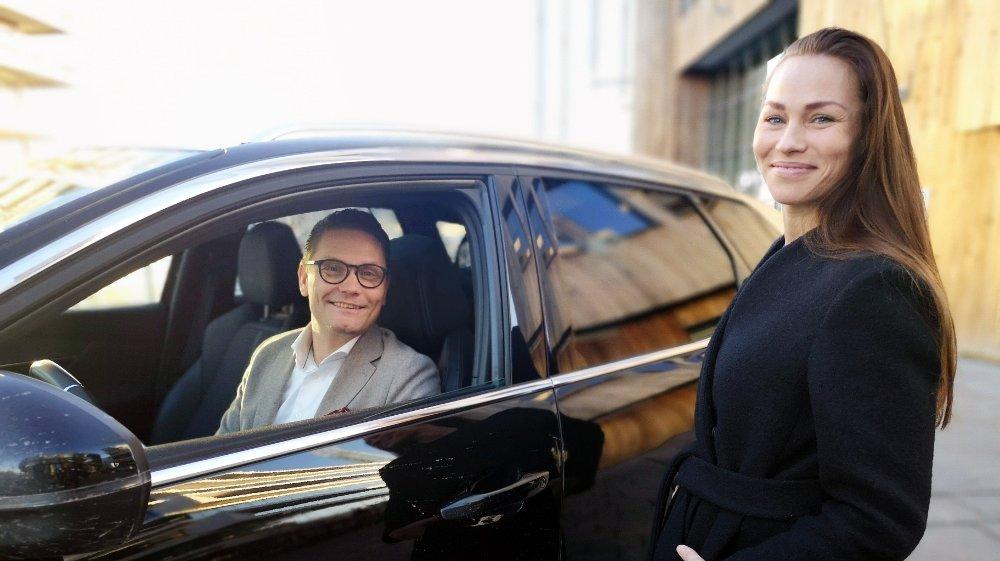 Klikk på bildet for å forstørre. Ketil Pedersen og Cecilie Tvetenstrand.