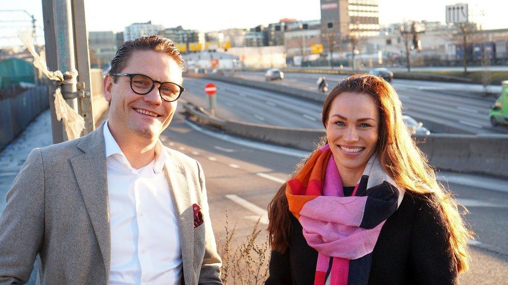 Klikk på bildet for å forstørre. Ketil Pedersen og Cecilie Tvetenstrand