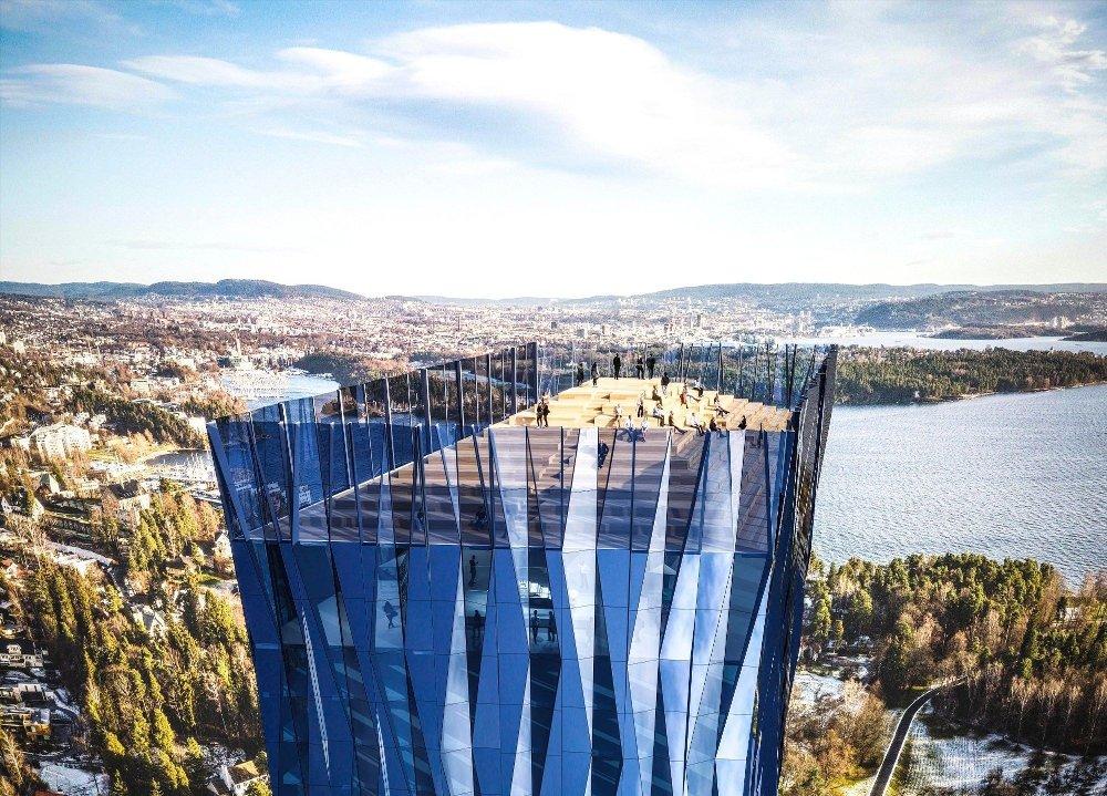 Klikk på bildet for å forstørre. RUVENDE: Slik var tegningene for Rev Oceans planlagte høyhus, 60 etasjer og 200 meter høyt.