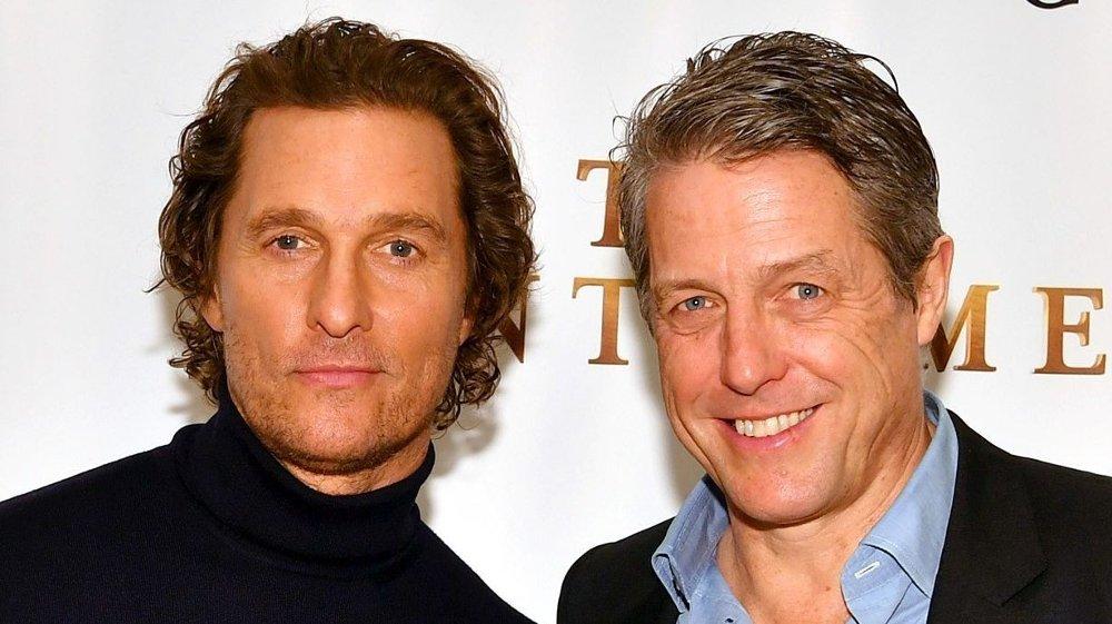 Klikk på bildet for å forstørre. Hugh Grant, som for tiden promoterer filmen The Gentlemen», hvor han spiller mot blant annet Matthew McConaughey, gir nå sin støtte til prins Harry og Meghan.
