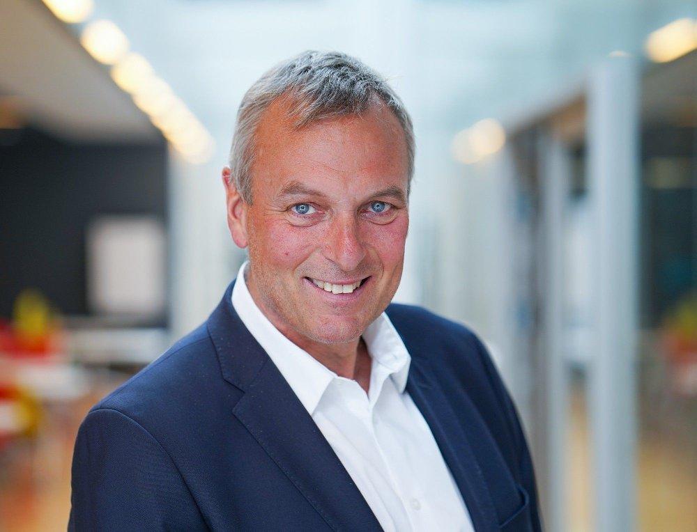 Klikk på bildet for å forstørre. XXX: Den ferske konsernsjefen Rolf Thorsen i Selvaag Bolig xxx for andre kvartal.