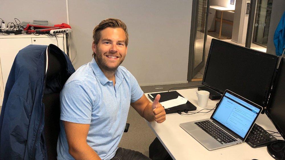 Klikk på bildet for å forstørre. EKSPERT PÅ SPANSK FOTBALL: Petter Veland.