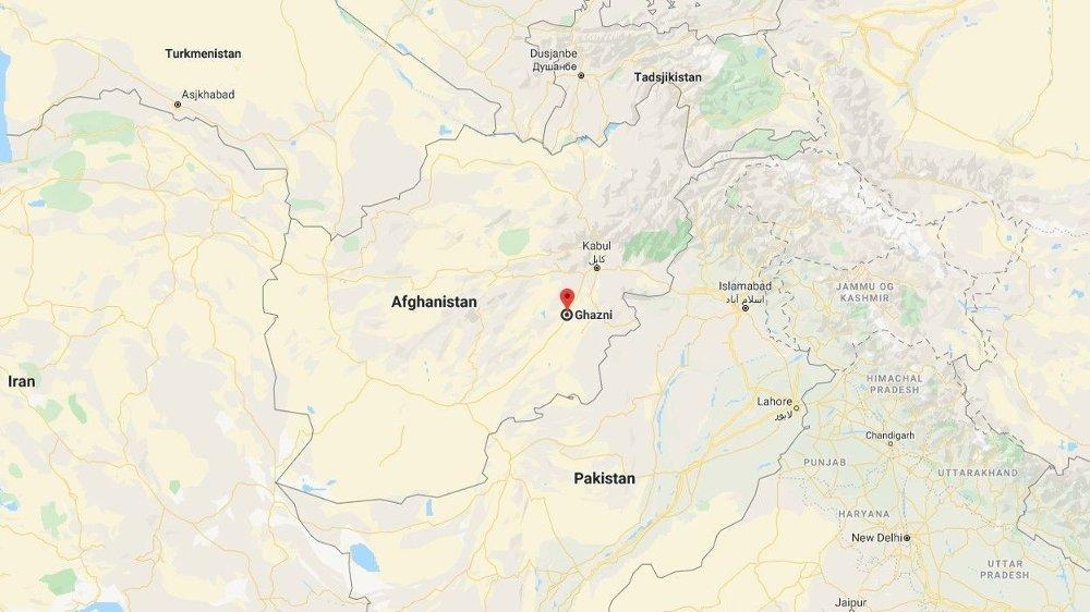 Klikk på bildet for å forstørre. FLYULYKKE: Flyet skal ha styrtet i Ghazni-provinsen i Afghanistan.