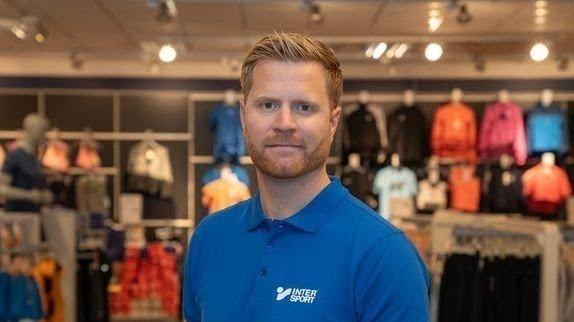 Klikk på bildet for å forstørre. SJEF FOR INTERSPORT: Lars Kristian Lindberg leder overgangen for Gresvig.