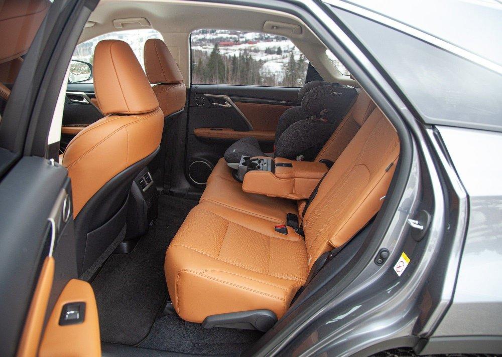 Klikk på bildet for å forstørre. Lexus RX 450h 2020-oppgradering