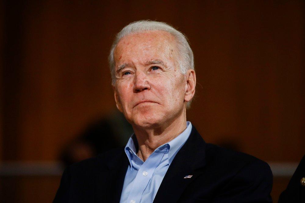 Klikk på bildet for å forstørre. Tidligere visepresident og Donald Trumps antatte hovedutfordrer Joe Biden.