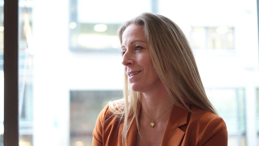 Klikk på bildet for å forstørre. Administrerende direktør Nina Jensen i REV Ocean i intervju med Nettavisen tirsdag 4. februar 2020.
