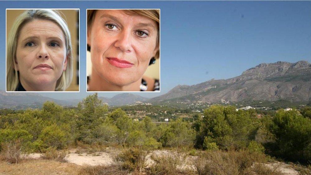 Klikk på bildet for å forstørre. Portrett av Sylvi Listhaug og Tone Tellevik Dahl.