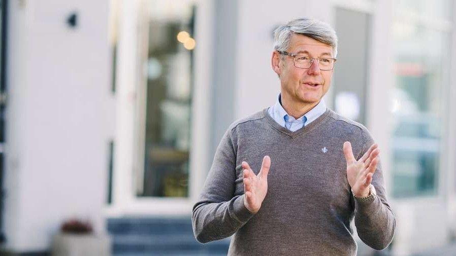 Klikk på bildet for å forstørre. STERKT IMOT: Generalsekretær Morten A. Meyer i Huseierne vil overhodet ikke støtte forslaget fra Eiendom Norge.