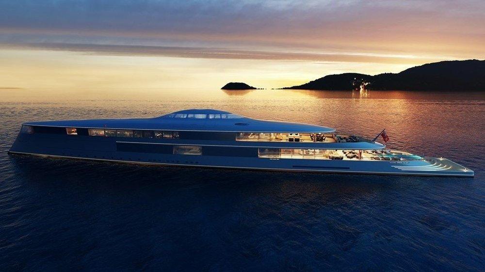 Klikk på bildet for å forstørre. MILEPÆL: Denne luksusyatchen blir ansett som en milepæl innenfor båtindustrien.