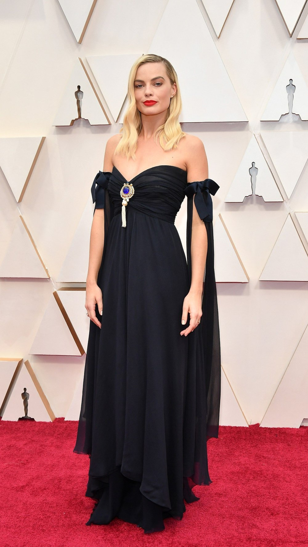 Klikk på bildet for å forstørre. 2020 Getty Entertainment - Social Ready Content HOLLYWOOD, CALIFORNIA - FEBRUARY 09: Margot Robbie attends the 92nd Annual Academy Awards at Hollywood and Highland on February 09, 2020 in Hollywood, California. Amy Sussman/Getty Images/AFP == FOR NEWSPAPERS, INTERNET, TELCOS & TELEVISION USE ONLY ==
