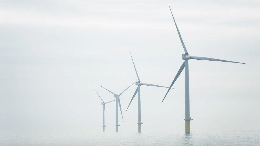 Klikk på bildet for å forstørre. STØRST: I september vant Equinor og SSE kontraktene til tre store havvind-prosjekter i Doggerbank-området i Nordsjøen. Prosjektene forventes å levere elektrisitet tilsvarende forbruket til 4,5 millioner britiske hjem.