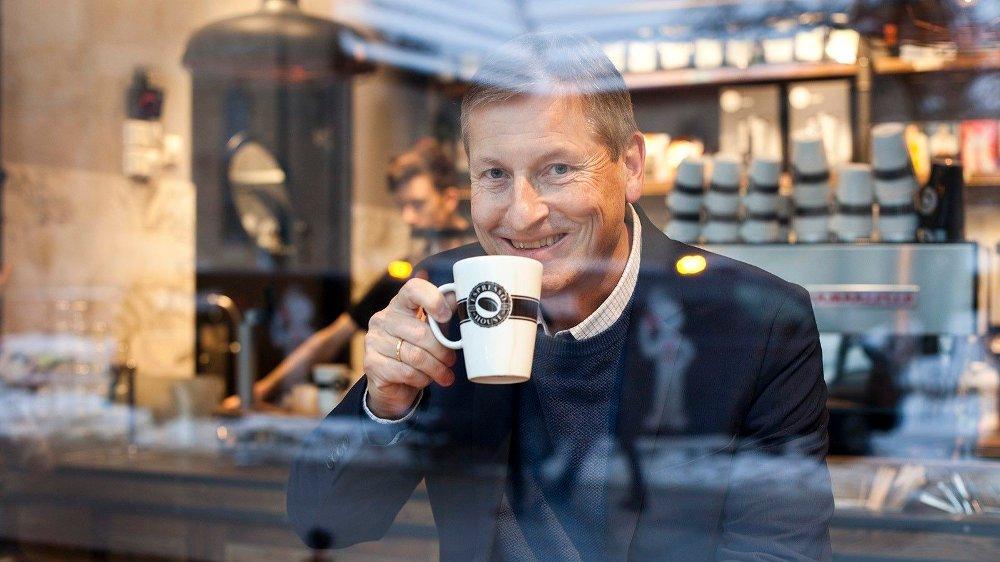 Klikk på bildet for å forstørre. Bjørn Næss, administrerende direktør i Oslo Handelsstands Forening .