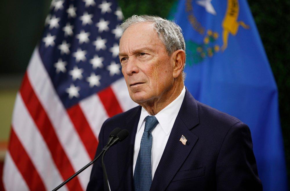 Klikk på bildet for å forstørre. Tidligere New York-ordfører Michael Bloomberg stiller som kandidat i Demokratenes nominasjonskamp foran presidentvalget i 2020.