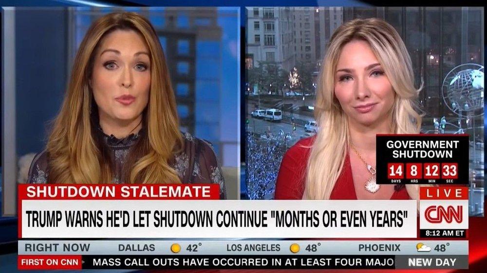 Klikk på bildet for å forstørre. Dette intervjuet på CNN i januar i fjor, gjorde Andrea Catsimatidis kjent i hele USA.