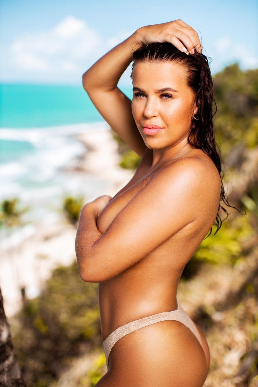 Klikk på bildet for å forstørre. SJEKKER INN FOR ANDRE GANG: Melina gjør comeback i «Ex on the Beach». Serien hun blant annet vant en Gullruten for.