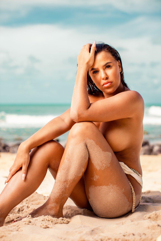 Klikk på bildet for å forstørre. ÅPEN FOR ROMANSE: Melina Johnsen er åpen for å finne kjærligheten i den nye sesongen av «Ex on the Beach».
