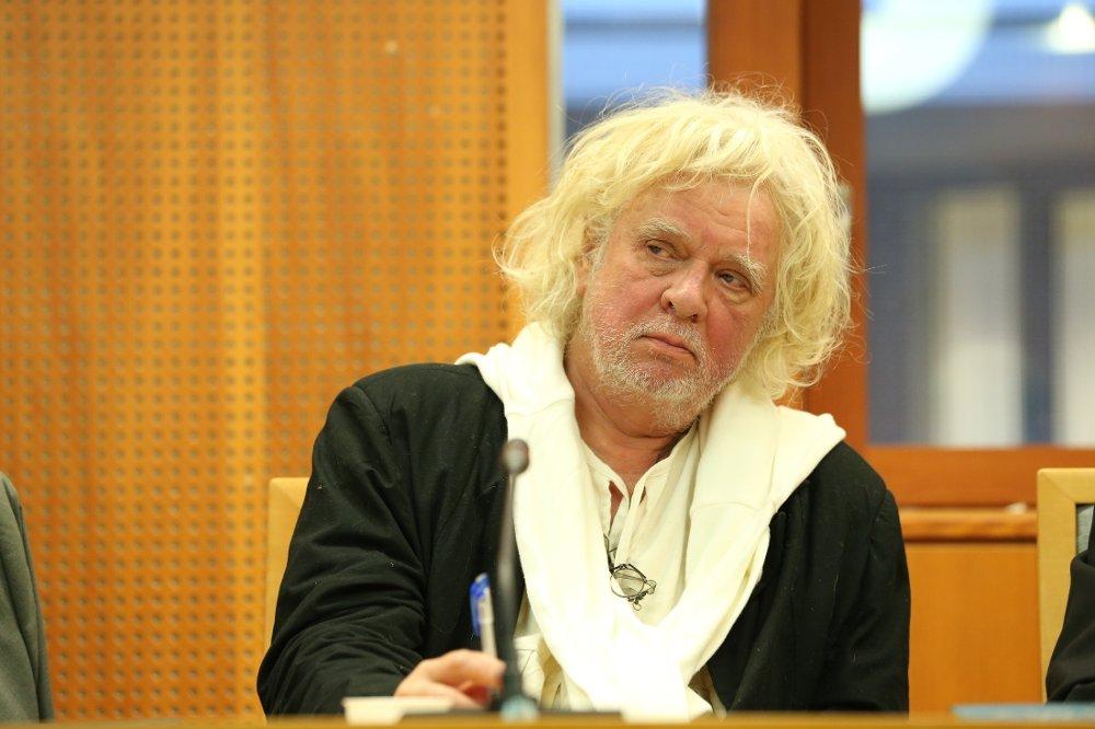 Klikk på bildet for å forstørre. Oslo 20121008. Tvistesaken der kunstner Odd Nerdrum har saksøkt Skatt Øst starter i Oslo tingrett mandag morgen.
