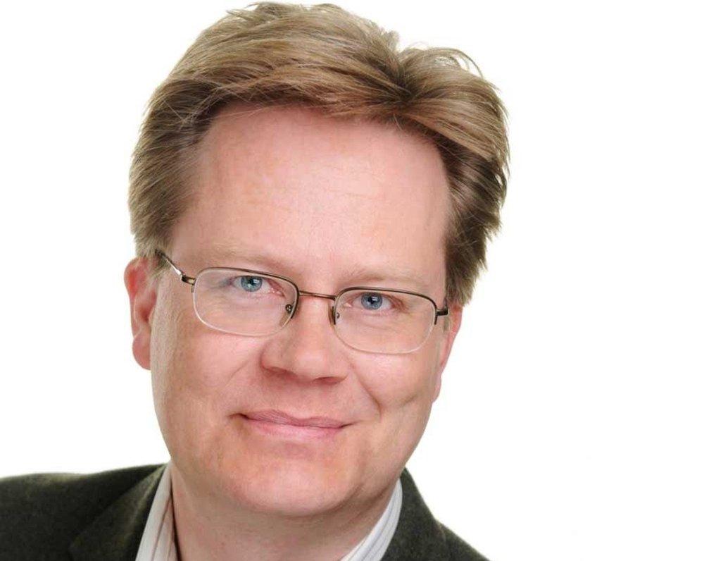 Klikk på bildet for å forstørre. Jan Arild Snoen i Minerva.
