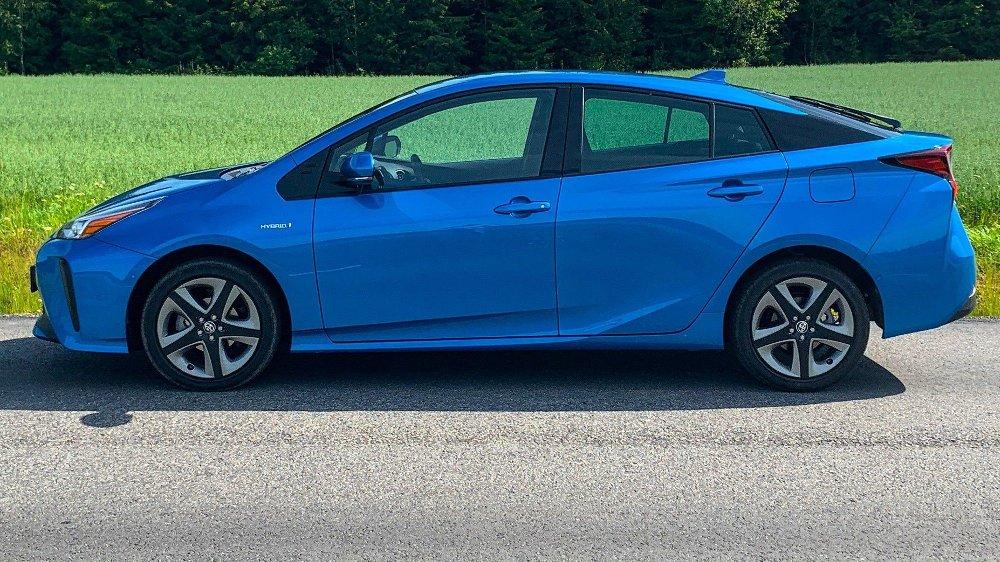 Klikk på bildet for å forstørre. En vanlig Toyota Prius