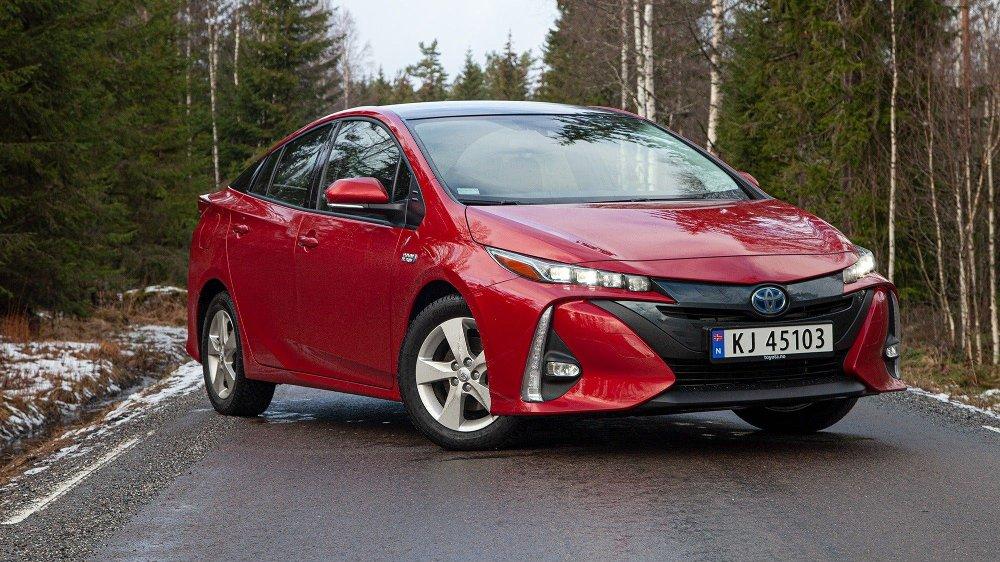 Klikk på bildet for å forstørre. Toyota Prius plug-in hybrid 5-seter