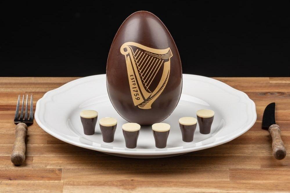 Klikk på bildet for å forstørre. Guinness-sjokoladeegg