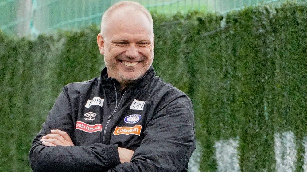 Klikk på bildet for å forstørre. TØFF, MEN FAIR? - Jeg hadde ikke vært i samme klubb i 12 år om jeg hadde vært et rasshøl, sier Dag-Eilev Fagermo i Sportsintervjuet.