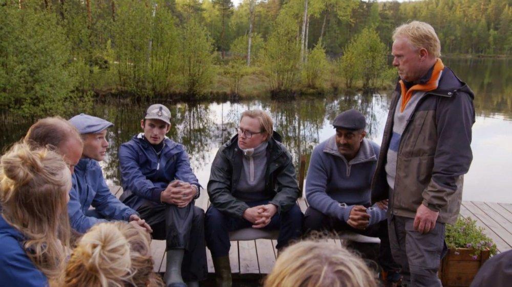 Klikk på bildet for å forstørre. OPPGJØR: Erik Alfred Tesaker tar et oppgjør med Per Sandberg i plenum.
