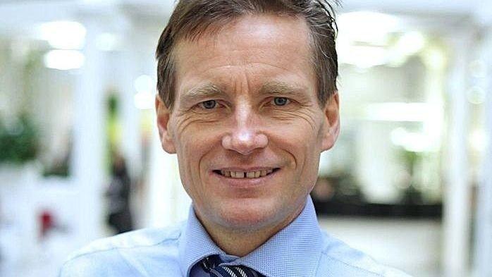 Klikk på bildet for å forstørre. CRUISEREISER: Investeringsdirektør Robert Næss i Nordea.