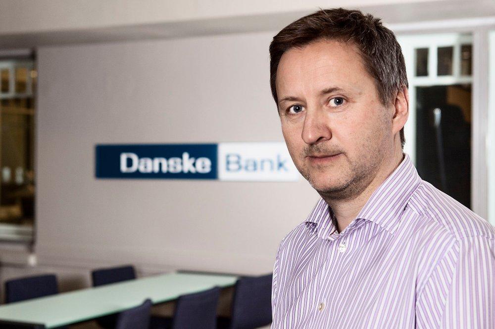 Klikk på bildet for å forstørre. Sjeføkonom Frank Jullum i Danske Bank.