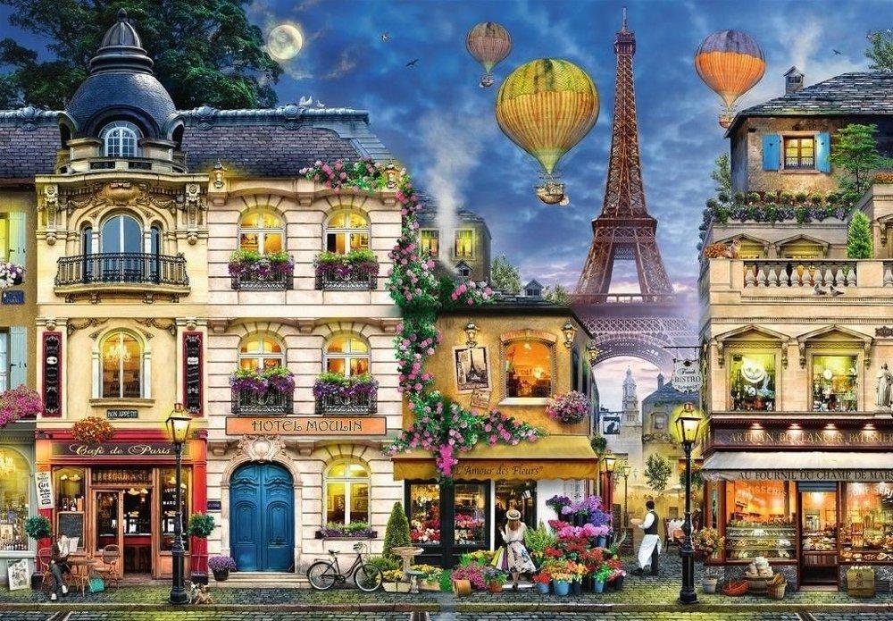 Klikk på bildet for å forstørre. Bilde av motivet på Paris-puslespill.