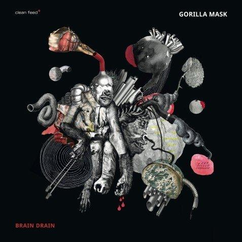 Klikk på bildet for å forstørre. Gorilla Mask - Brain Drain