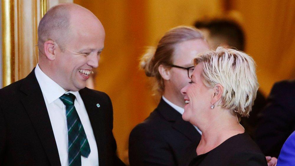 Klikk på bildet for å forstørre. Oslo 20190909. Statsminister Erna Solberg under partilederdebatten på Stortinget etter Kommune- og fylkesvalget 2019.