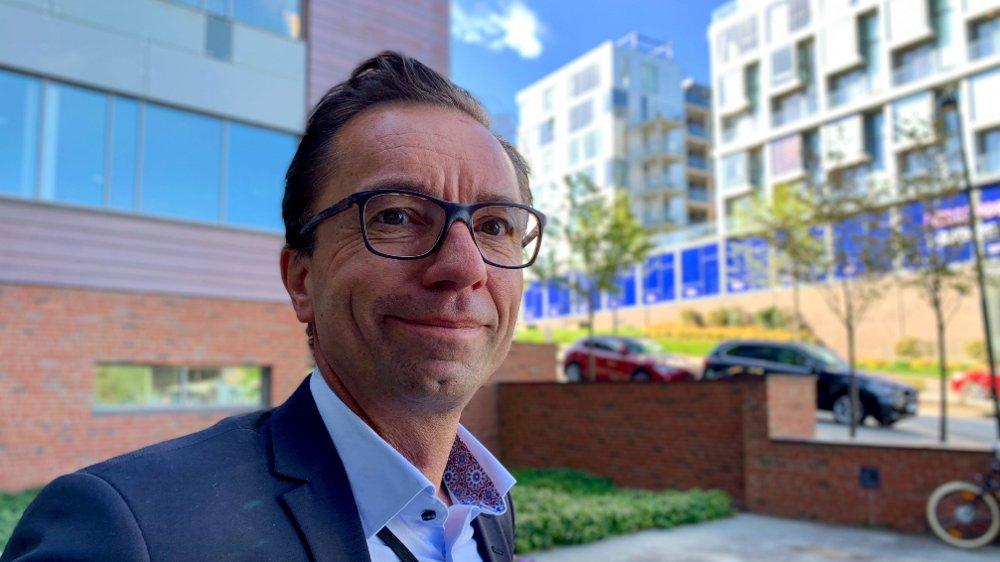 Klikk på bildet for å forstørre. Analytiker Tore Guldbrandsøy leder Rystad Energys Stavanger-kontor.