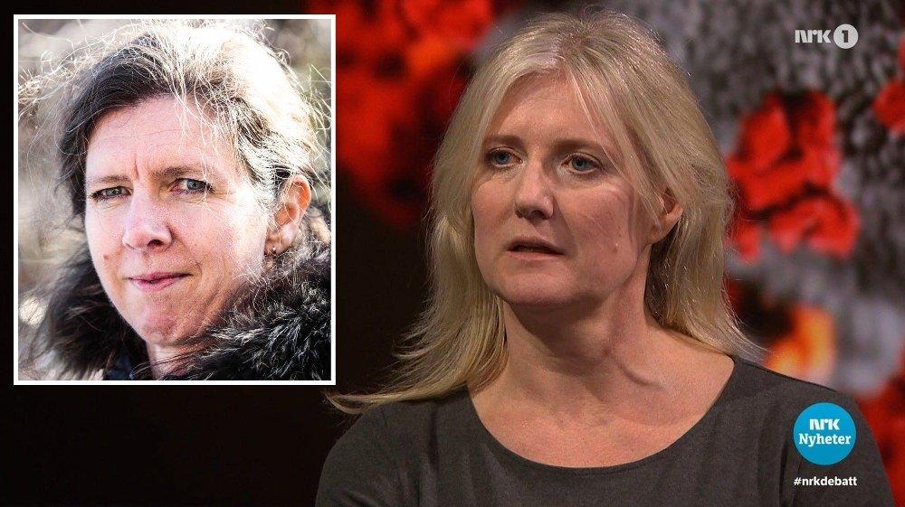 Klikk på bildet for å forstørre. TAR TIL MOTMÆLE: OUS-forsker Gunhild Alvik Nyborg .