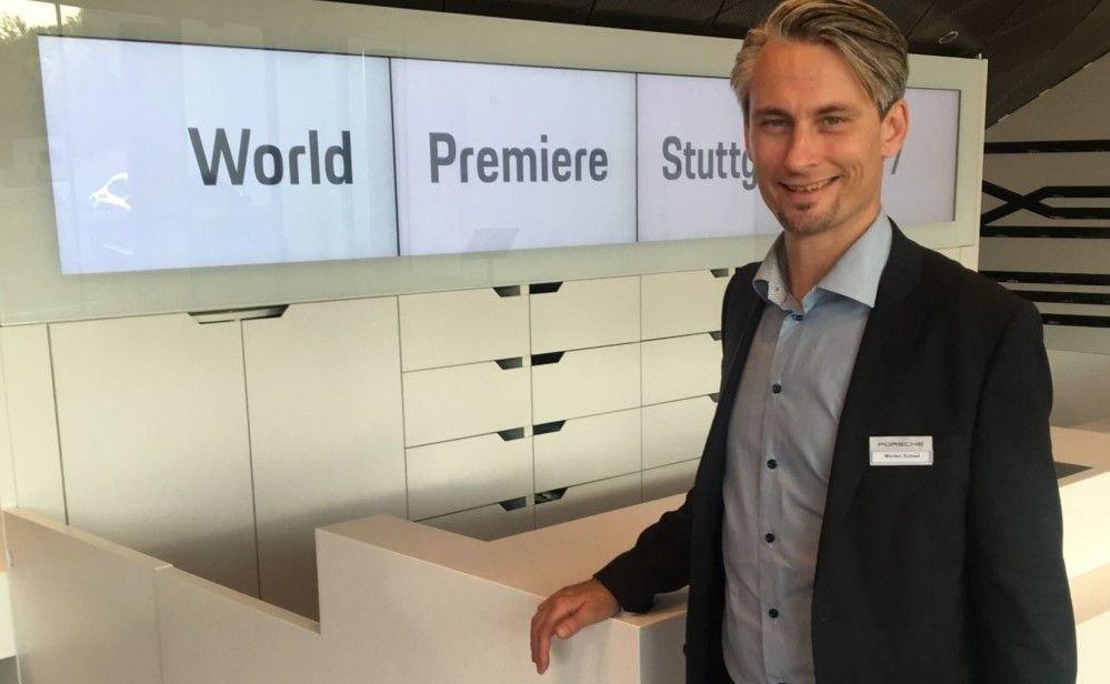 Klikk på bildet for å forstørre. Morten Scheel er administrerende direktør hos Porsche-importøren Autozentrum Sport.
