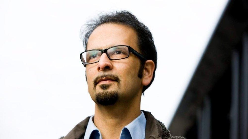 Klikk på bildet for å forstørre. Norskiransk hjerneforsker, lege og aktivist Mahmood Amiry-Moghaddam har et bredt nettverk i Iran.