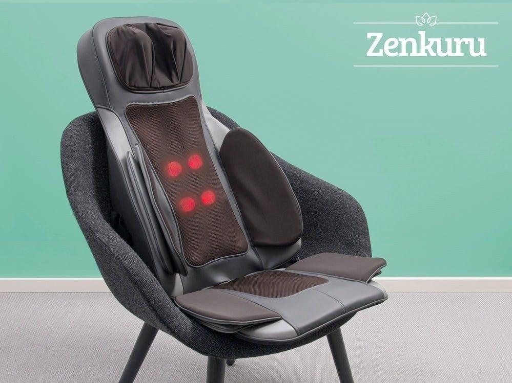 Klikk på bildet for å forstørre. massajestol