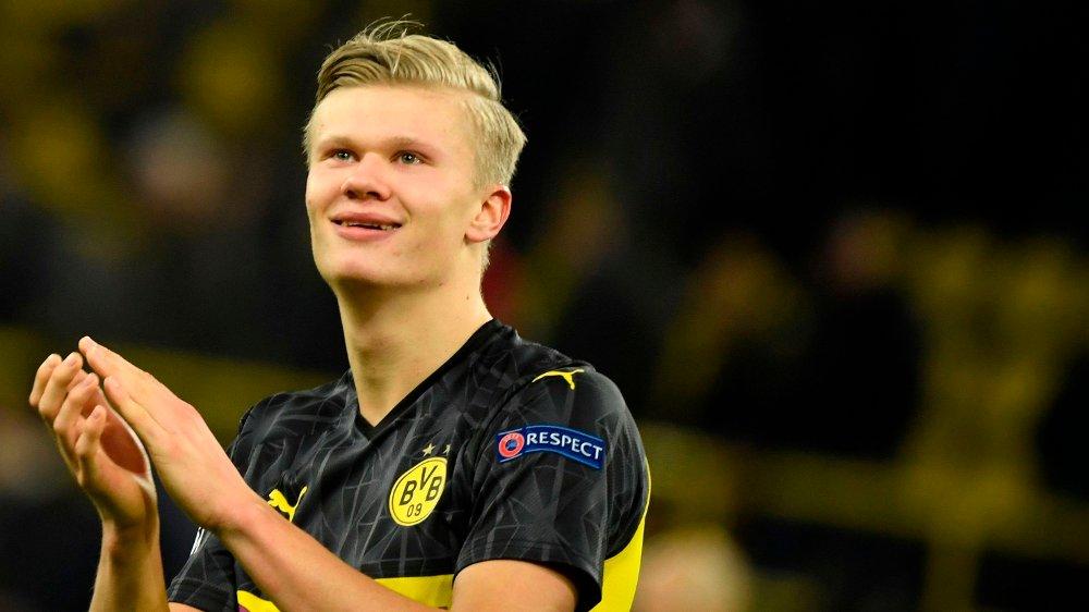 Klikk på bildet for å forstørre. UNIK: Erling Braut Haaland er ikke bare en meget god fotballspiller, men noe for seg selv.