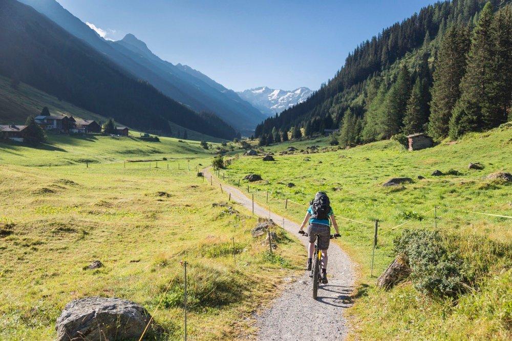 Klikk på bildet for å forstørre. Mountain biking
