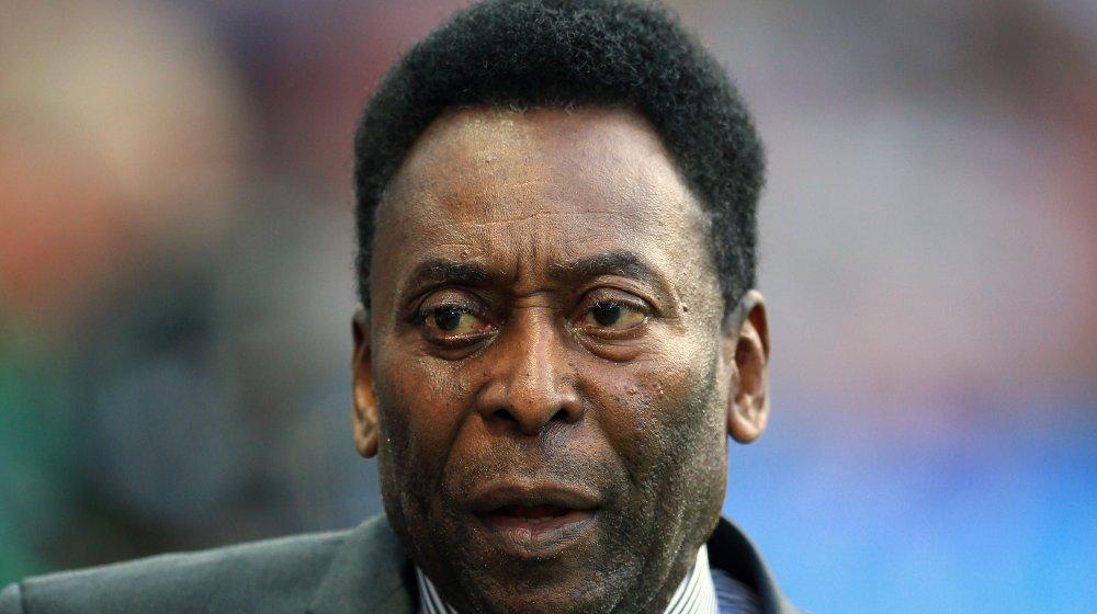 Klikk på bildet for å forstørre. TIDENES STØRSTE?: Pelé mener han er den største gjennom alle tider.