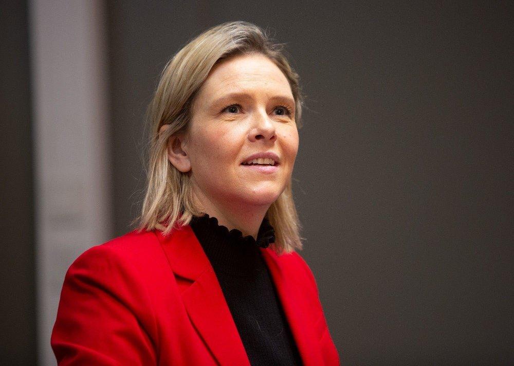 Klikk på bildet for å forstørre. VIL STOPPE DNB-UTBYTTE: Finanspolitisk talsperson Sylvi Listhaug i Frp.
