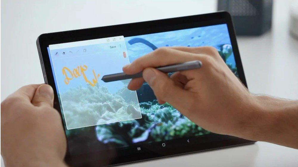 Klikk på bildet for å forstørre. Samsung Galaxy Tab S6