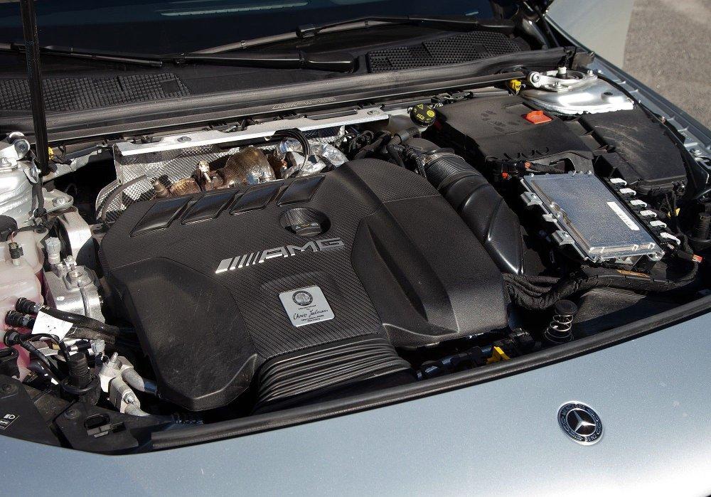 Klikk på bildet for å forstørre. Mercedes AMG A45s
