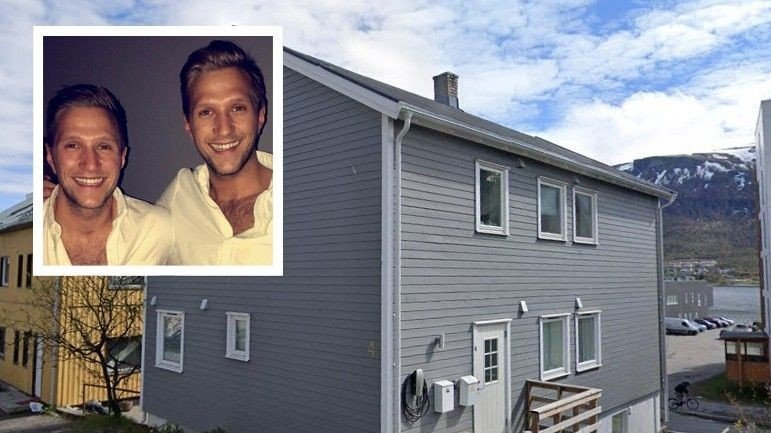 Klikk på bildet for å forstørre. SKULLE LEIE UT: Brødrene Nikolai og Markus Aspen kjøpte en leilighet i denne boligen på Sør-Tromsøya i vinter. Den skulle de leie ut via Airbnb, men slik gikk det ikke.