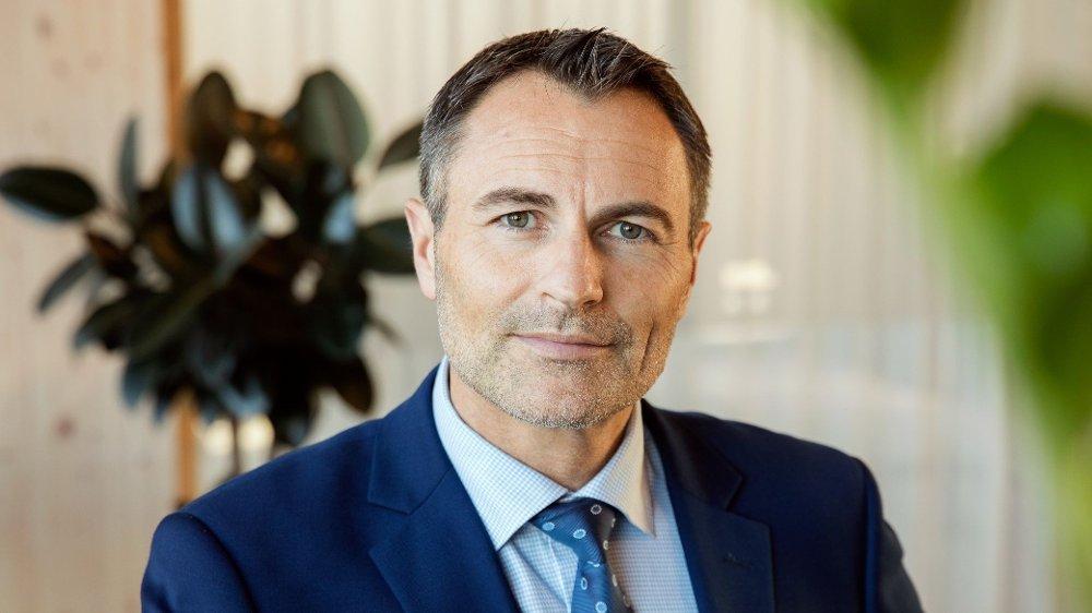 Klikk på bildet for å forstørre. Administrerende direktør Dag Kibsgaard-Petersen i Norgestaxi.